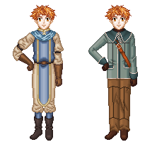 Request - Ted Pixel Art (Suikoden I and IV) by ReaperFFseven