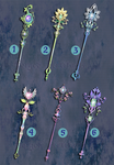 Weapon Adoption 08 Forest Gems collection CLOSED