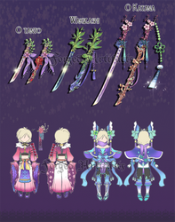 Weapon Adoption 15 Sword Set and bonus CLOSED! by Forged-Artifacts