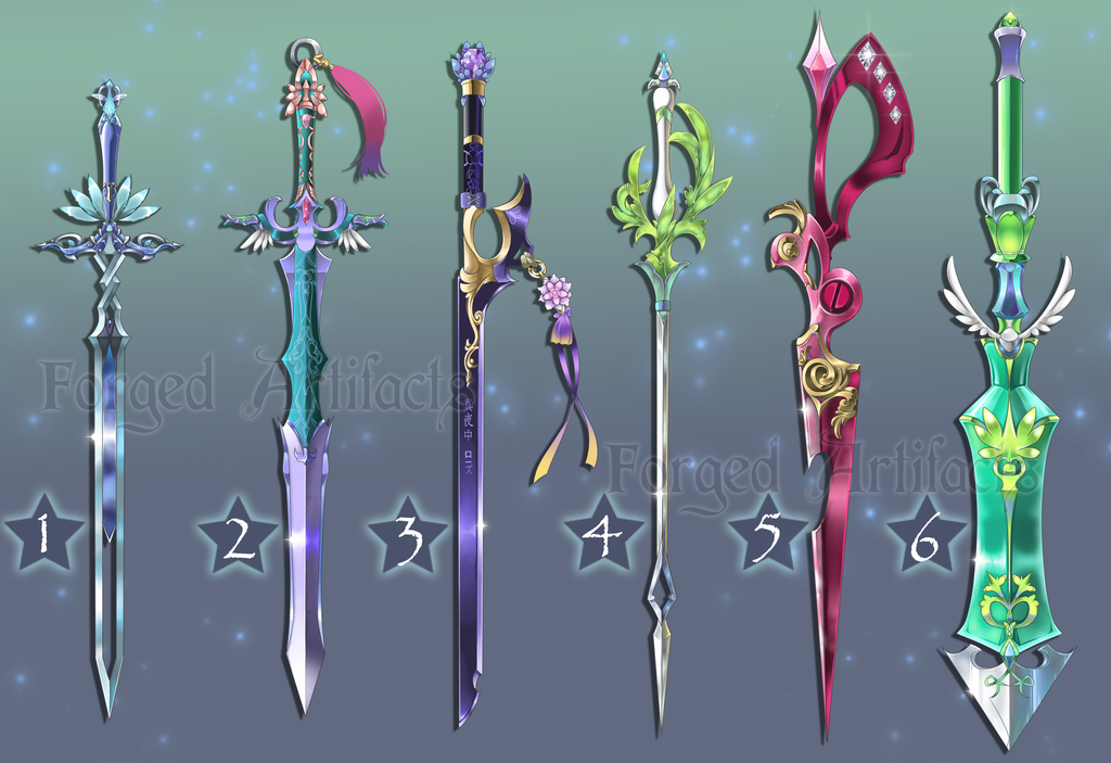 Weapon Adoption 24 Swords CLOSED by Forged-Artifacts