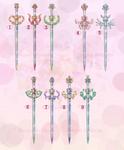 Sailor Moon Weapon Adoption 27 CLOSED