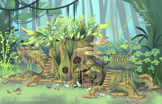 Flute's home