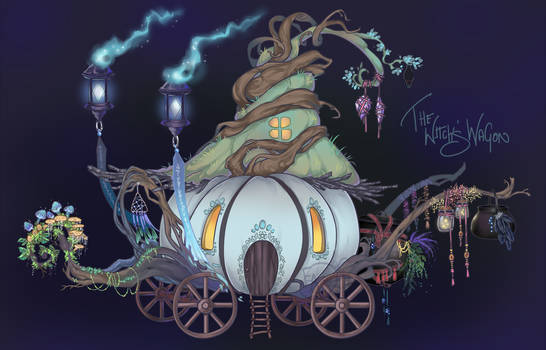 The Witch's Wagon Home Adopt CLOSED