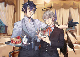butler cafe by Sae66