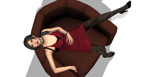 RE 2' Ada Wong Subdued 2