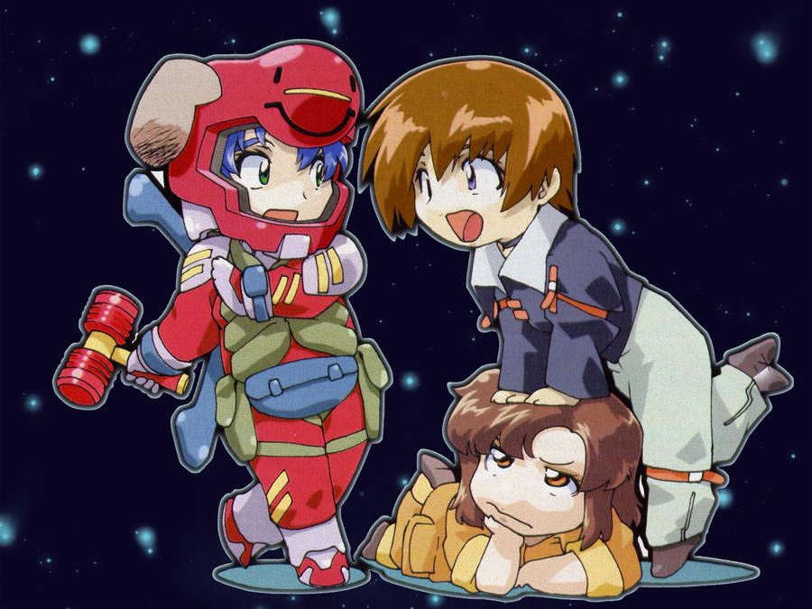 Gundam SEED-Chibi wp-1600x1200 by ViraMors