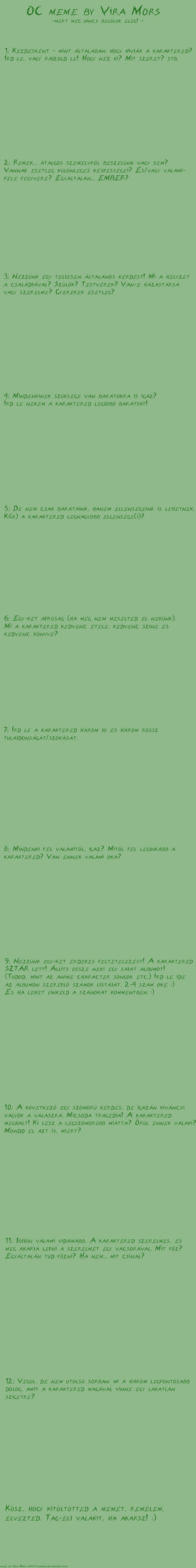 OC meme -Blank-hun- by ViraMors