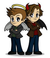 Dean and Sam by ZombieGirl01 by ViraMors