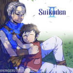 SUIKODEN 2 Fansart Jowy and Pilika by EruSaint29