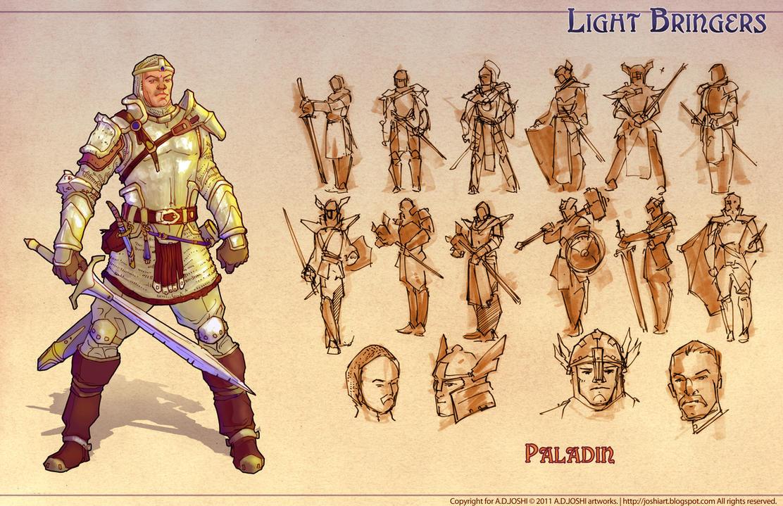 Dnd Fantasy Paladin By Atomic Hermit On Deviantart