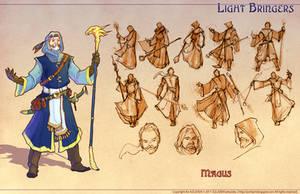 DnD Fantasy - Magus by Atomic-Hermit