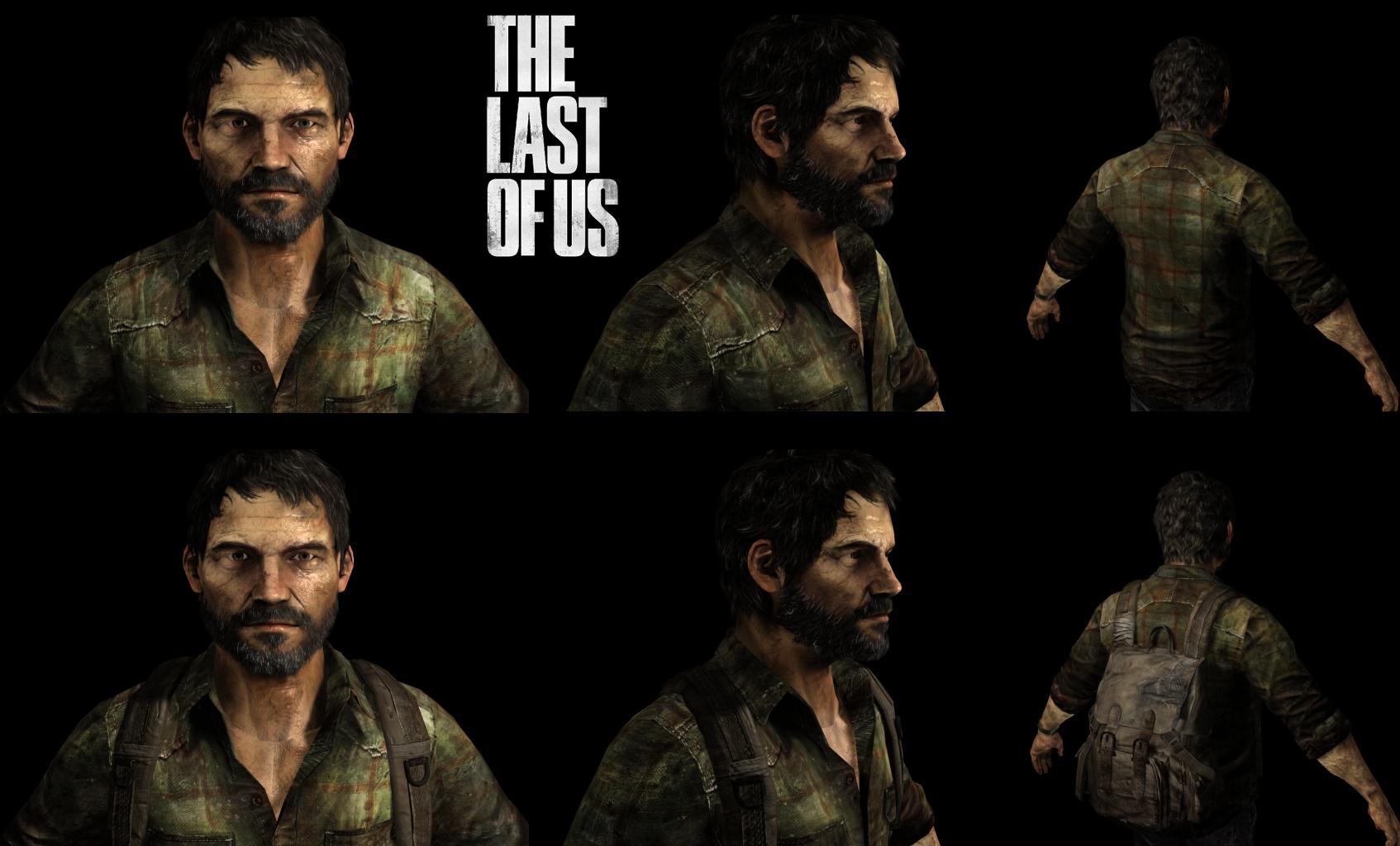The Last Of Us Joel Render Final By Math4dead