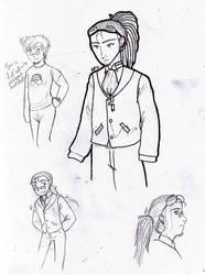 Alexis Doodles by CoffeeCatComics