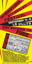 International Accordion Festival by CoffeeCatComics