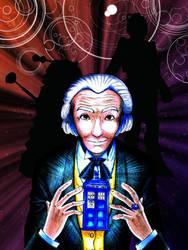 The First Doctor by CoffeeCatComics