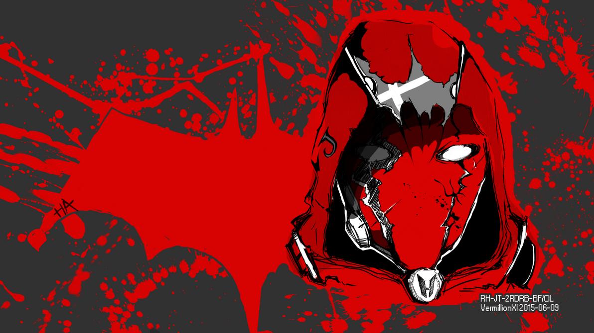 custom redhood wallpaper by vermillionxi on deviantart