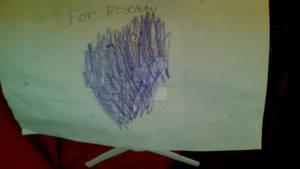 A Crystal-Heart for Boseman