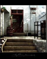 Idyllic Terrace by Saleri