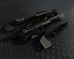 Weapon Concept by Saleri