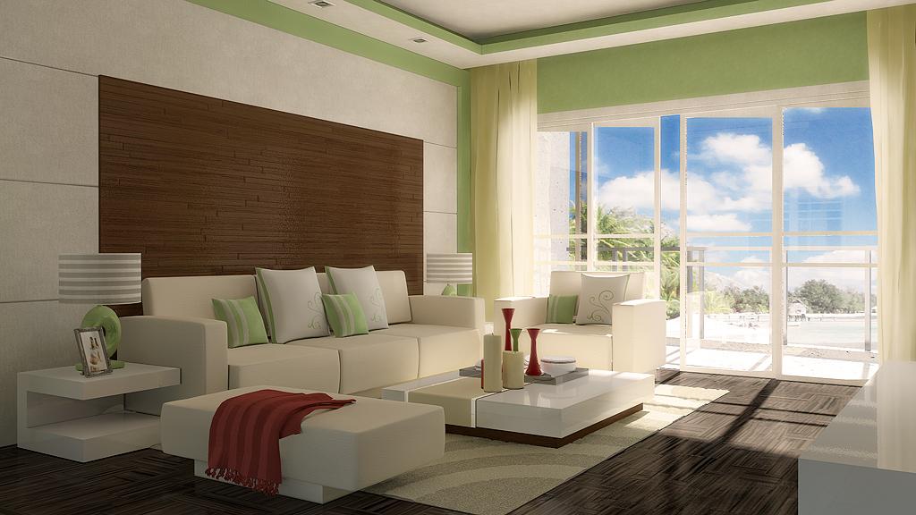 Rendering Test Living Room by Saleri on DeviantArt