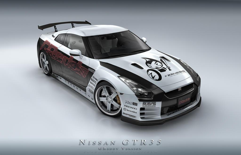Nissan GTR 35 by Saleri