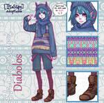 [Adoptable] Shironuri Diabolos [CLOSED]