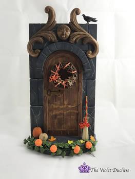 Fairy Door Autumn Theme