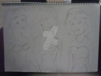 Disney Princess Fan Art - Part 1 - WIP