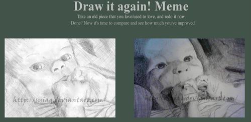 Draw it again: Baby
