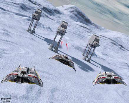 Battle of Hoth III by tkdrobert