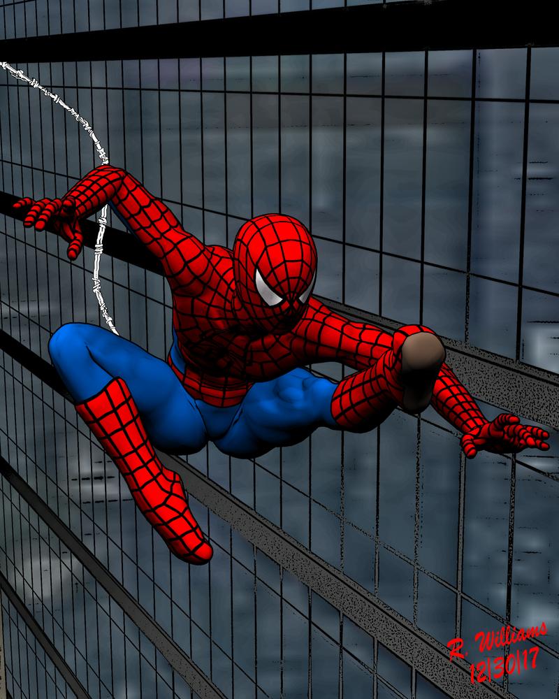 The Spiderman Swing by tkdrobert