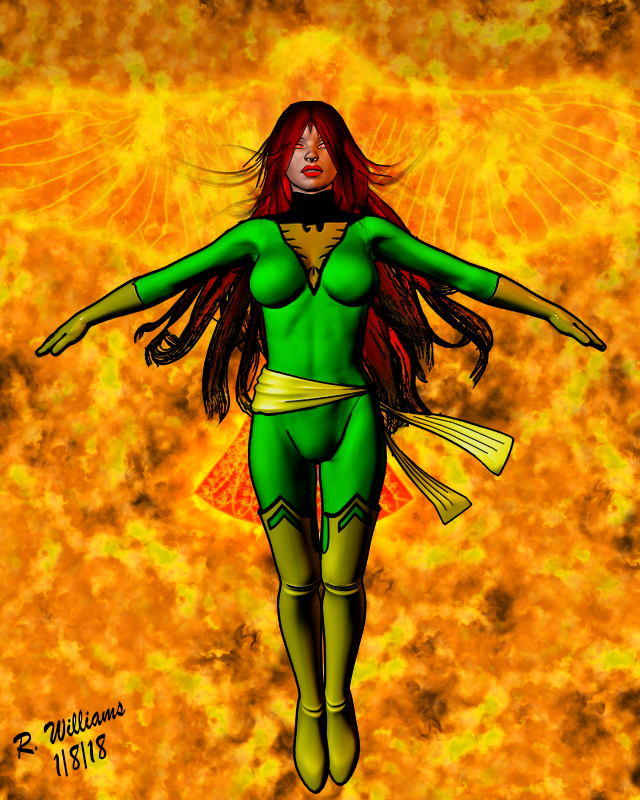 Phoenix: Jean Grey by tkdrobert