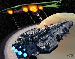 The Saturn Interdiction by tkdrobert