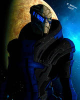 Mass Effect: Garrus by tkdrobert