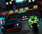 CyberPunk2077: Police Chase