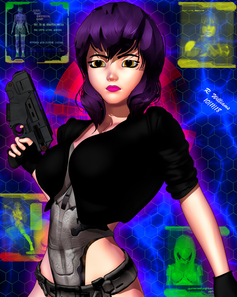 Ghost in the Shell: The Major by tkdrobert
