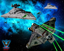 Star Wars Rebels: The Ghost by tkdrobert