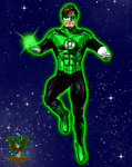 Green Lantern by tkdrobert