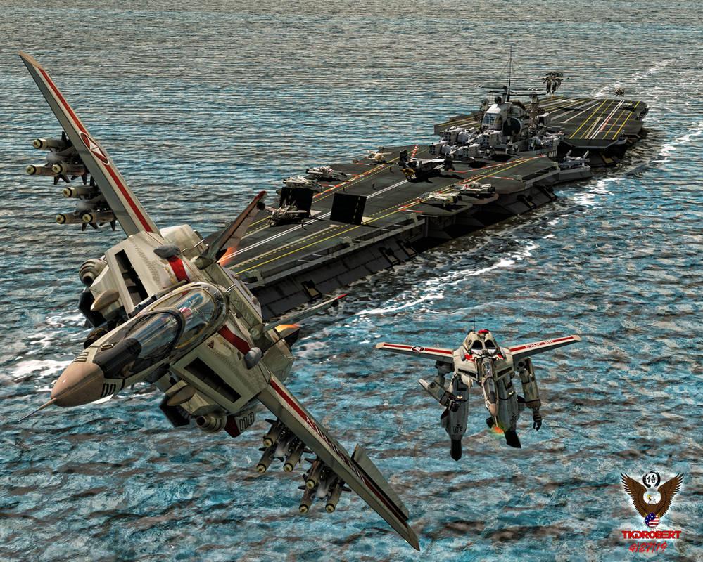 Robotech: Carrier Ops by tkdrobert