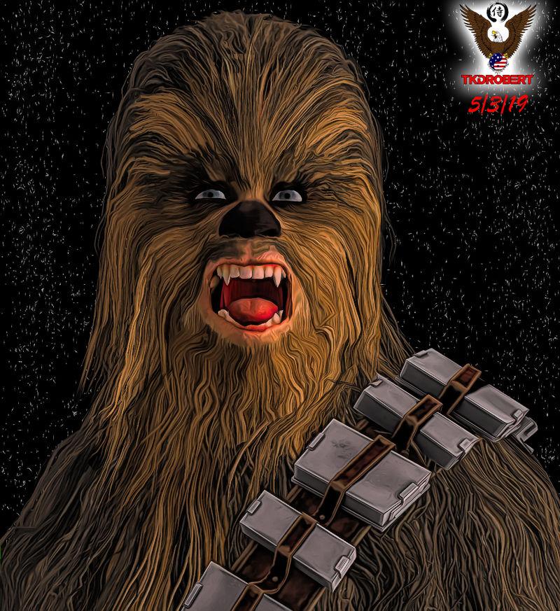 Chewbacca: R.I.P. Peter Mayhew by tkdrobert