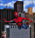 Amazing Spiderman by tkdrobert