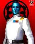 Grand Admiral Thrawn by tkdrobert