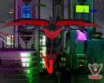 Batman Beyond Soars by tkdrobert