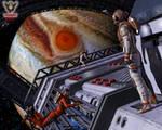 Jupiter Station by tkdrobert
