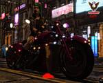 Cyberpunk: 2077 Biker
