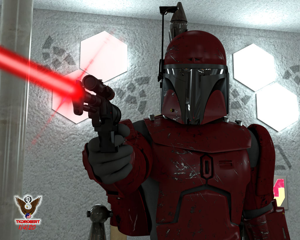 Don't Mess with a Mando by tkdrobert