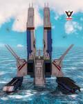 SDF1: Water Landing by tkdrobert