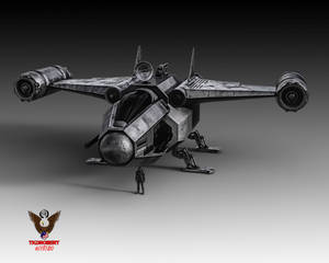 Concept Bounty Hunter Gunship