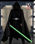 Jedi Luke Skywalker by tkdrobert