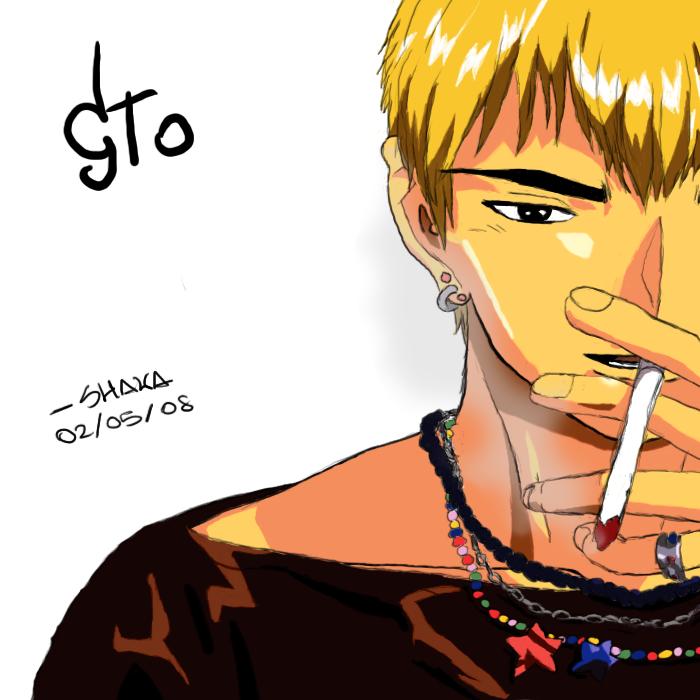 Onizuka Eikichi Colored By Shaka90 On DeviantArt